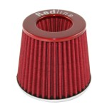 Redline 16-505 - Pod Air Filter Conical Type 76mm neck Red