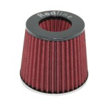 Redline 16-521 - Pod Air Filter Conical Type 65mm neck Carbon Fibre look