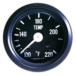 Pricol 300539 - Pricol Temp Gauge Mech 1500mm Cap Black