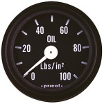 Pricol 300542 - Pricol Oil Press Gauge Mech Bl 0-100psi