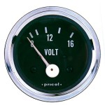 Pricol 300581 - Pricol Voltmeter 8-16V Chrome