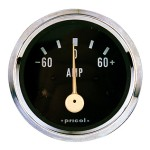 Pricol 300582 - Pricol Ammeter 60 Amp Chrome - 52mm
