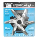 Flex-a-lite F1008 - 18-inch Low Profile Flex Fan Stainless Blade