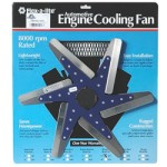 Flex-a-lite F1080 - 18-inch Low Profile Flex Fan Stainless Blades