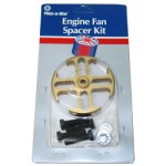 Flex-a-lite F14548-2 - 1-inch Gold Fan spacer Kit